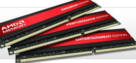 AMD se asocia con Patriot & VisionTek y lanza sus memoria DDR3 bajo su marca Radeon