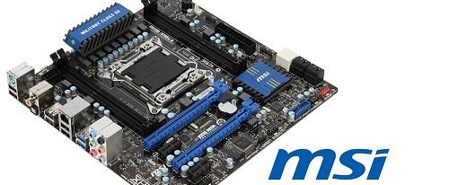 MSI expone su tarjeta madre micro-ATX X79MA-GD45