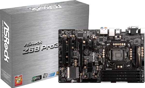 Review: Asrock Z68 Pro3 Gen3