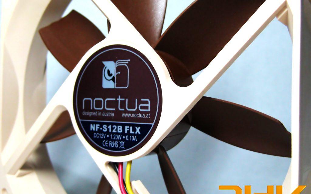 Review: Ventilador Noctua NF-S12B FLX