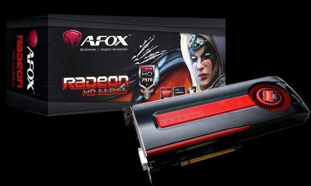 AFOX lanza su Radeon HD 7970