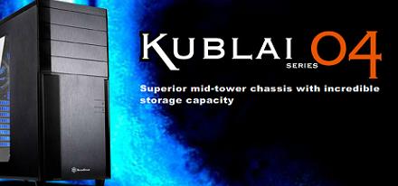 SilverStone presentó su case Mid-tower Kublai KL04