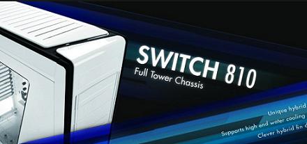 Nuevo case Switch 810 de NZXT