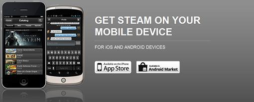 Steam ya disponible para iOS y Android