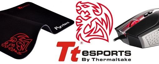 Tt eSports lanza el mouse pad Pyrrhus y el mouse Black Combat White