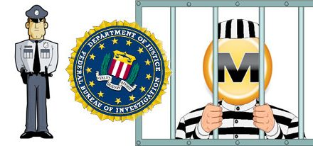 """FBI cierra MegaUpload y Annonymus ataca en """"venganza"""""""