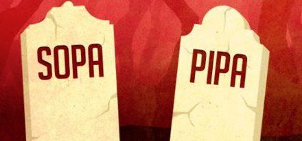 SOPA y PIPA postergadas indefinidamente