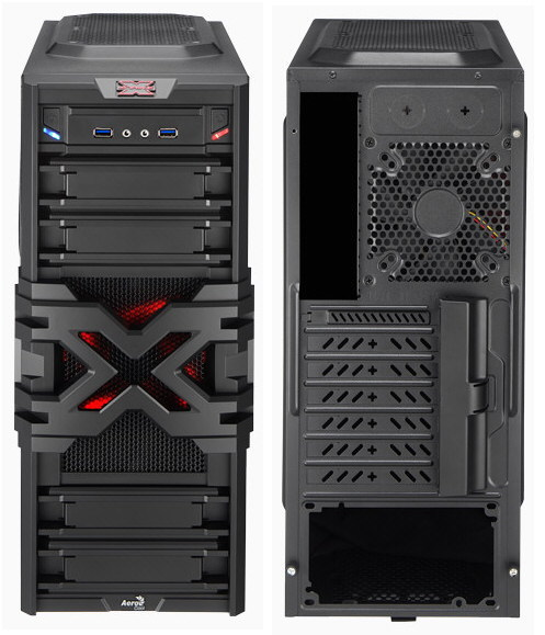 Case's Strike-X One & Strike-X One Advance de Aerocool