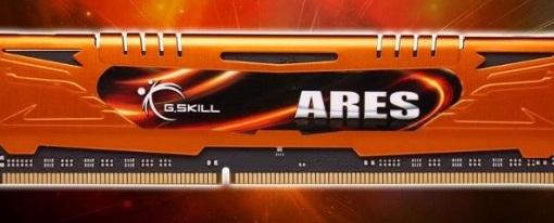 G.Skill anuncia sus memorias de alto rendimiento Ares