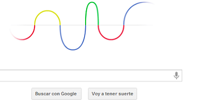 Google hipnotiza con ondas hertzianas que conmemoran el nacimiento de Heinrich Rudolf Hertz