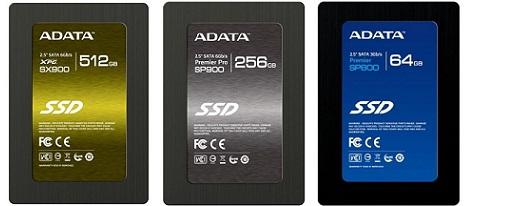 ADATA lanza sus nuevos SSDs XPG SX900, Premier Pro SP900 y Premier SP800