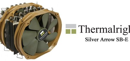 Thermalright viene con el CPU Cooler Silver Arrow SB-E