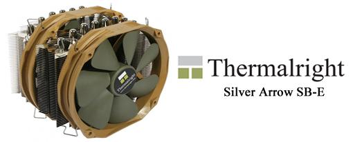 Thermalright viene con el CPU Cooler Silver Arrow SB-E