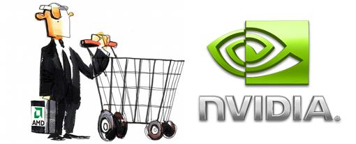 Fue una vez AMD tentada a comprar a nVidia?