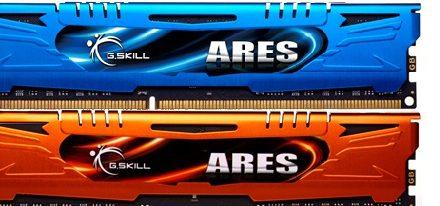 G.Skill lanza oficialmente sus memorias Ares