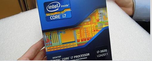 Ya a la venta en Japón el procesador Intel Core i7-3820