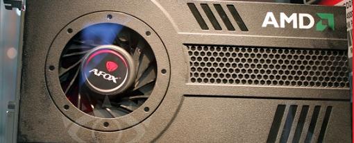 CeBIT 2012: AFOX mostró su AMD Radeon HD 7850 Single Slot