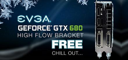 EVGA ofrece su High Flow Bracket gratis y ya tiene disponible el Backplate para la GeForce GTX 680