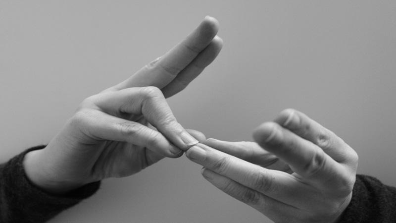 Software que convierte lenguaje de señas en texto