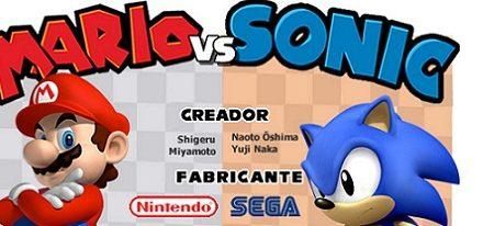 Infografía: Mario vs Sonic