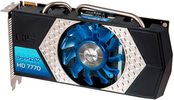 Radeon HD 7770 IceQ X iTurbo X de HIS