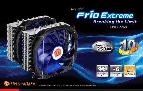 Thermaltake Frio Extreme - 10 años de garantia