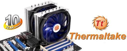 El disipador Frio Extreme de Thermaltake ahora cuenta con 10 años de garantia