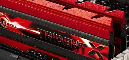 G.Skill presenta su serie de memorias Trident X DDR3-2400 MHz