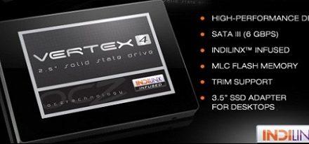 Nuevos SSDs Vertex 4 de OCZ con controladora Indilinx Everest 2