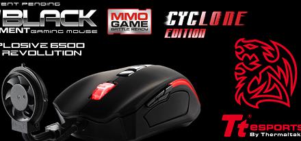 Ratón Black Element Cyclone de Tt eSports