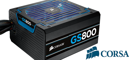 Corsair actualiza sus fuentes de poder de la serie GS