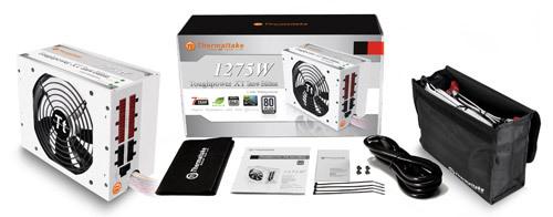 Fuente de poder Toughpower XT Platinum 1275W Snow Edition de Thermaltake