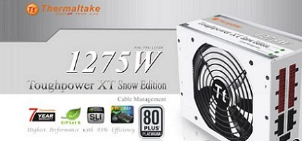 Toughpower XT Platinum 1275W Snow Edition de Thermaltake