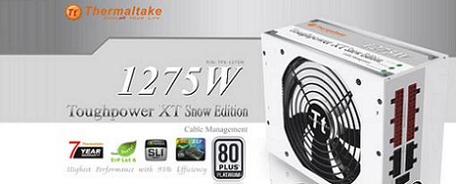 Toughpower XT Platinum 1275W Snow Edition de Thermaltake