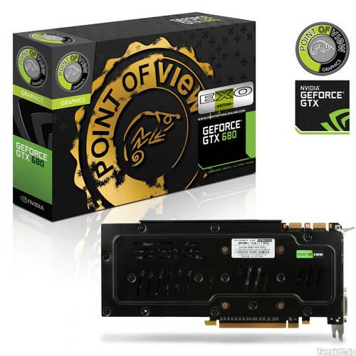GeForce GTX 680 EXO de Point of View