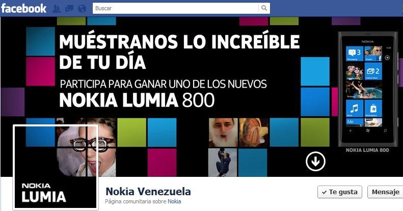 Nuevo concurso Nokia Lumia 800
