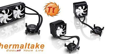 Thermaltake lanza sus refrigeradores líquidos todo-en-uno serie Water 2.0
