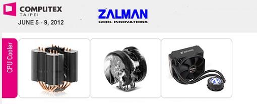 Zalman exhibirá cinco nuevos CPU Coolers en la Computex 2012