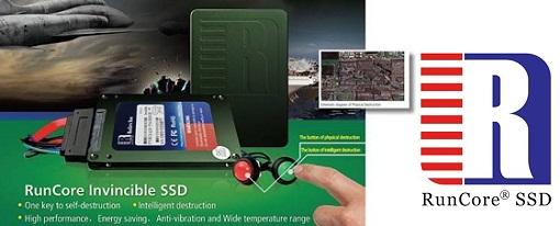 RunCore muestra su SSD InVincible que tiene una función de auto-destrucción