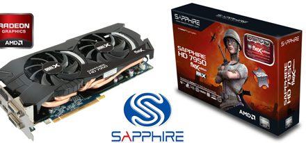 SAPPHIRE Lanza HD 7950 FleX para los Usuarios Eyefinity