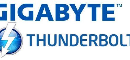 Gigabyte prepara tres tarjetas madres con soporte para Thunderbolt