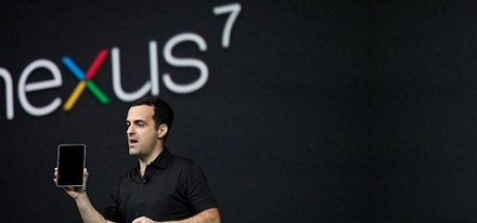 Google lanza su tablet Nexus 7