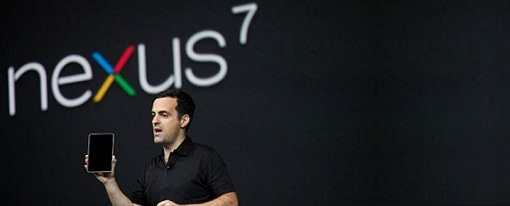 Google lanza su tablet Nexus 7