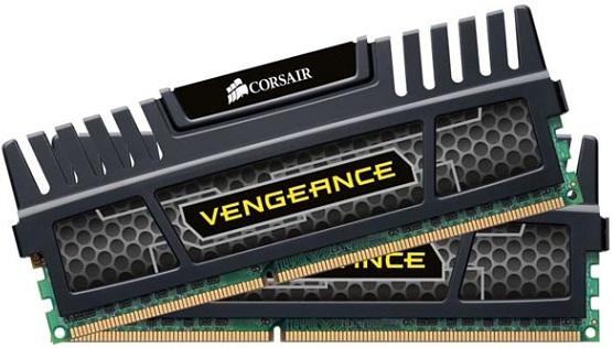 Kit de memoria DDR3 de 16 GB Vengeance de Corsair