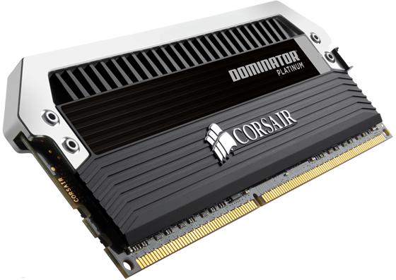 Memorias DDR3 Dominator Patinum @ 3000MHz de Corsair