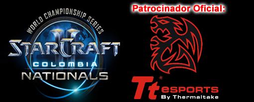 TteSports Auspicia Starcraft 2 WCS Colombia Nationals