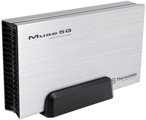 "Caja para disco duro 3.5"" Muse 5G de Thermaltake"