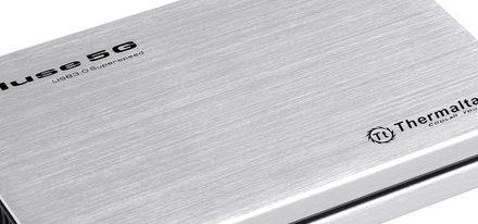 Thermaltake presenta sus cajas para disco duro Muse 5G
