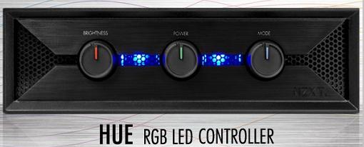 NZXT presenta su controlador de LEDs Hue