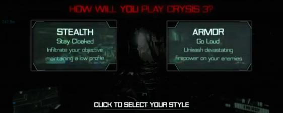 Crysis 3 - modo de juego